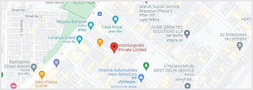 IndoSurgicals Directions
