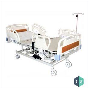 ICU Bed, Electric with ABS Panel and ABS Safety Rails