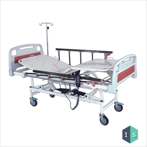 ICU Bed, Electric with ABS Panel and Aluminium Safety Rails Supplier