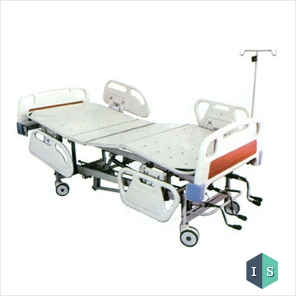 ICU Bed with ABS Panel and ABS Safety Rails