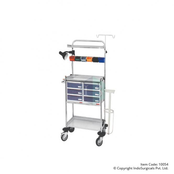 Crash Cart Trolley Manufacturer, Supplier & Exporter
