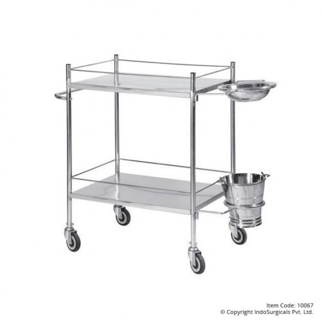 Dressing Trolley Stainless Steel