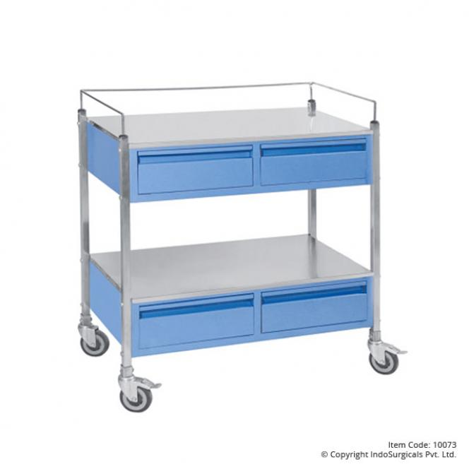 Medicine Trolley with Four Drawers Supplier