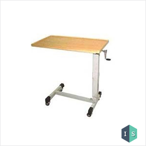 Over Bed Table (Adjustable) by Gear Handle Manufacturer, Supplier & Exporter