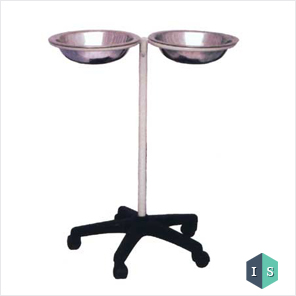 Hospital Basin Stand Double Manufacturer, Supplier & Exporter