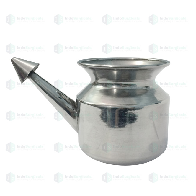 Stainless Steel Jala Neti Pot (General Quality)