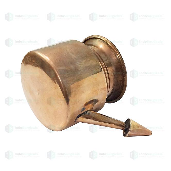 Copper Jala Neti Pot (General Quality)