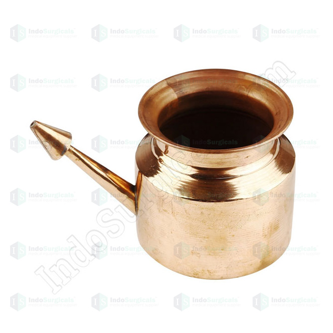 Copper Jala Neti Pot (General Quality)