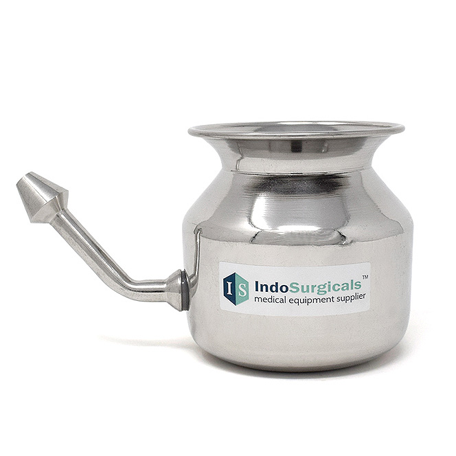 Stainless Steel Jala Neti Pot
