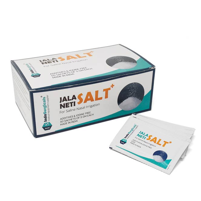 Jala Neti Salt Plus (Pack of 50 Sachet) Manufacturer, Supplier & Exporter