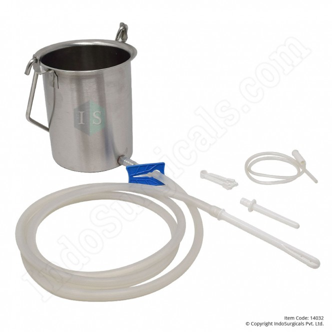 Enema Bucket Kit 1.5 Liter
