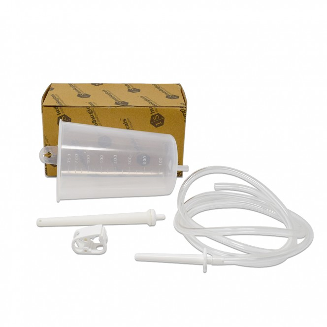 Plastic Enema Can Kit for Home Use 750 ml Supplier