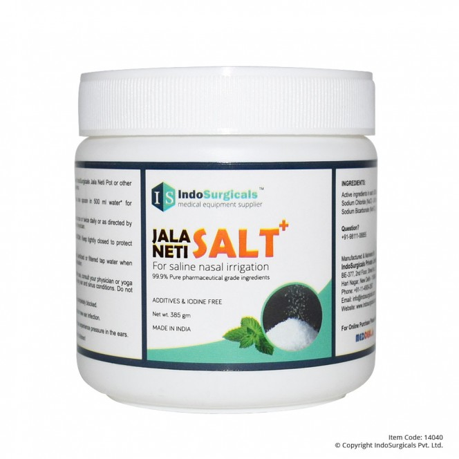 Jala Neti Salt Plus, 385 gm Supplier