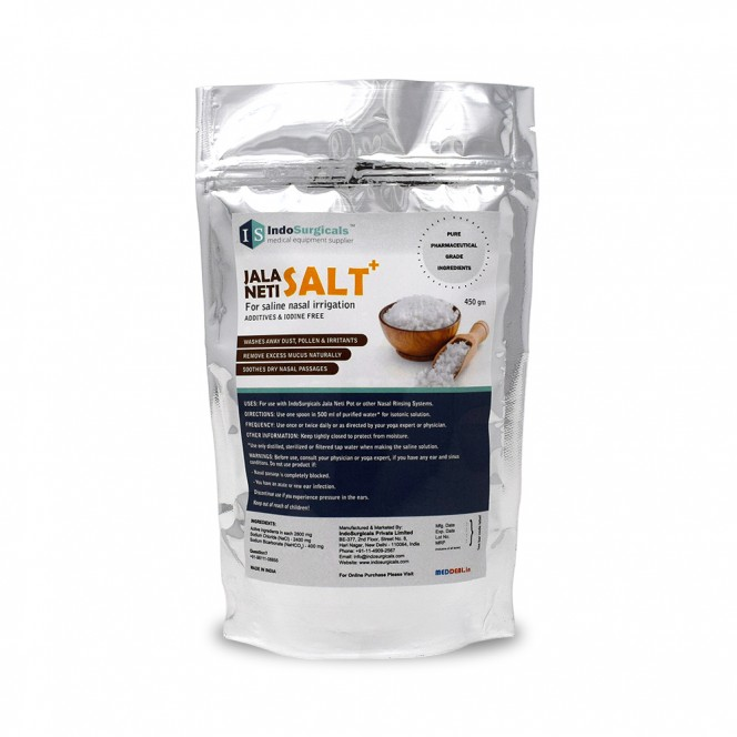Jala Neti Salt Plus Economy Pack 450 gm Supplier