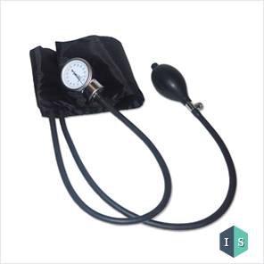 Sphygmomanometer, Aneroid Type (Black)