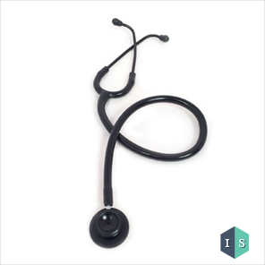 Black Gold Acoustic Stethoscope