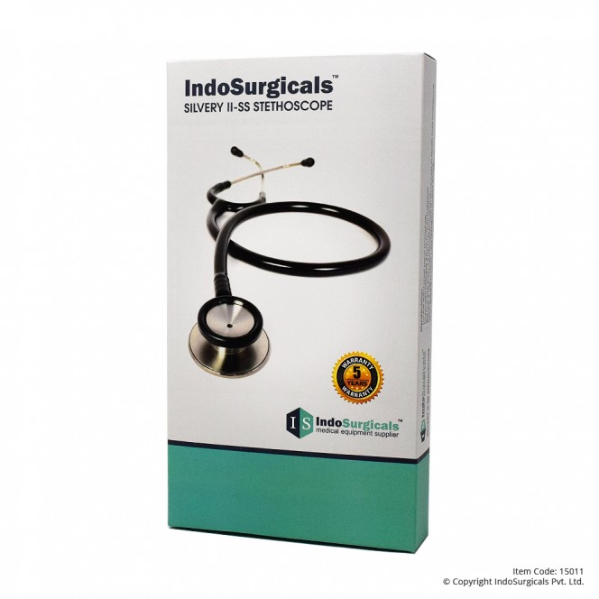 IndoSurgicals Silvery II-SS Stethoscope