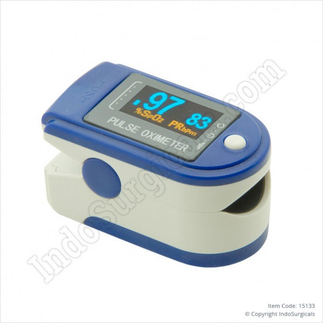Pulse Oximeter Finger Tip Manufacturer, Supplier & Exporter