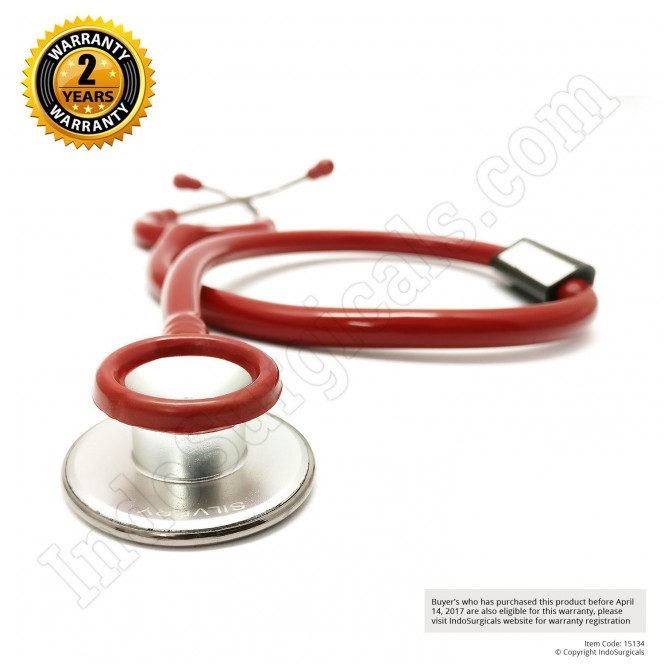 IndoSurgicals Silvery Stethoscope