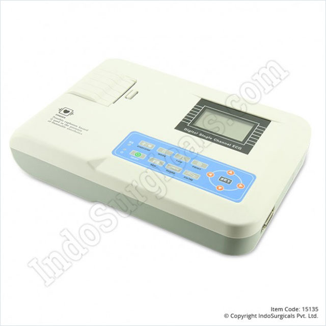 CMS 100G ECG Machine Single Channel Supplier