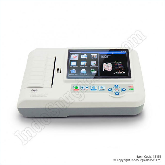 CMS 600G ECG Machine Six Channel