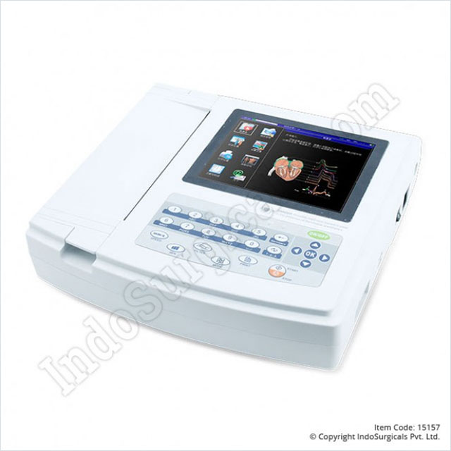CMS 1200G ECG Machine Twelve Channel Supplier