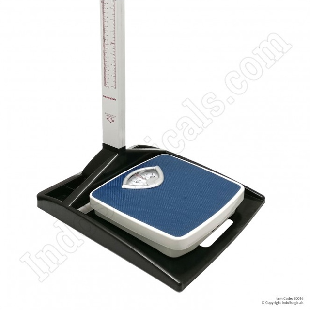 Height Measuring Scale with Mechanical Weighing Scale Supplier