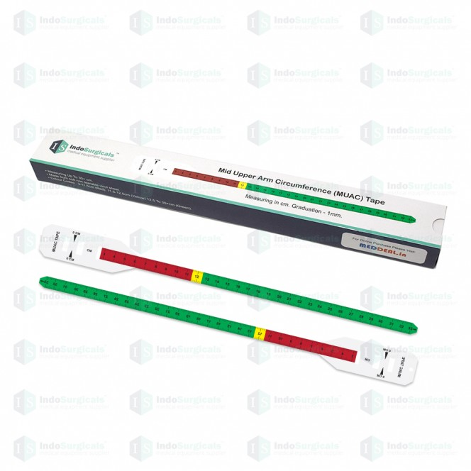 Mid Upper Arm Circumference (MUAC) Tape Supplier