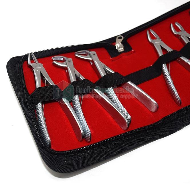 Dental Tooth Forceps (Child) Set of 6 Manufacturer