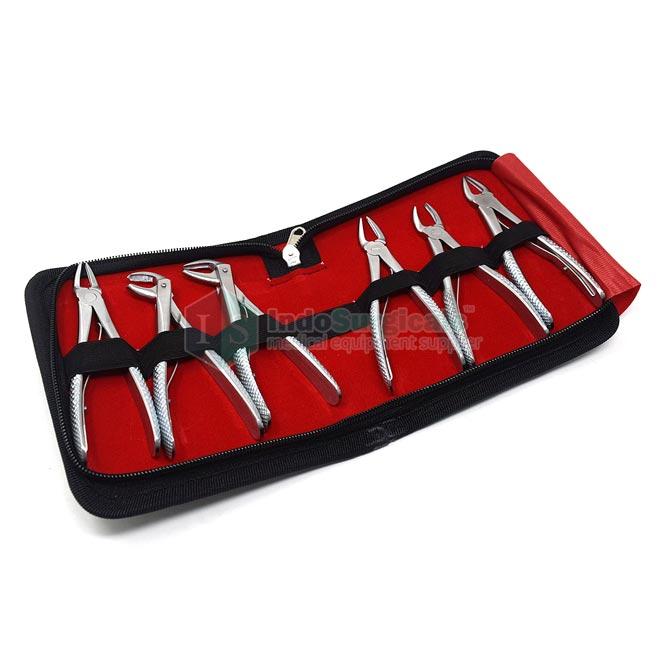 Dental Tooth Forceps (Child) Set of 6 Manufacturer, Supplier & Exporter
