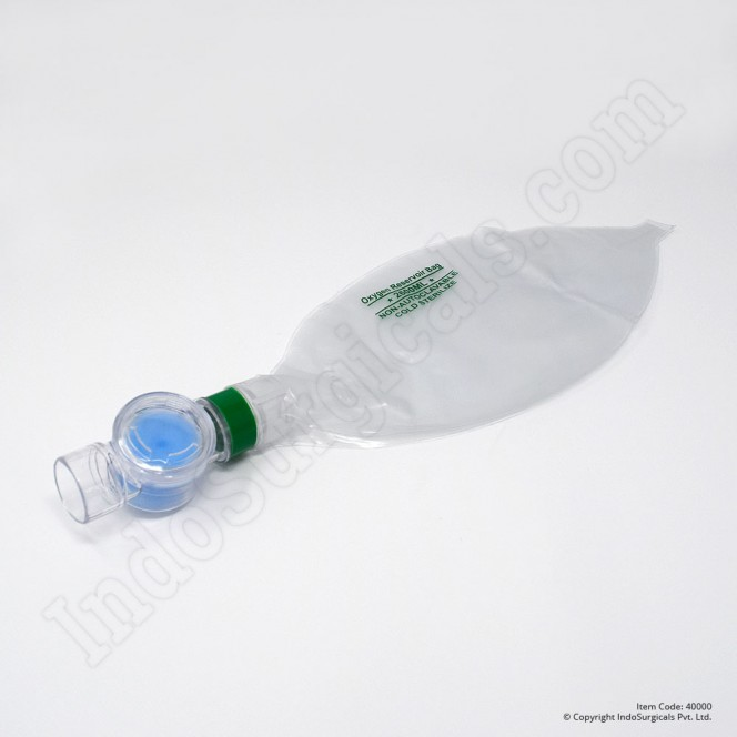 Green Silicone Resuscitator (Adult) Autoclavable