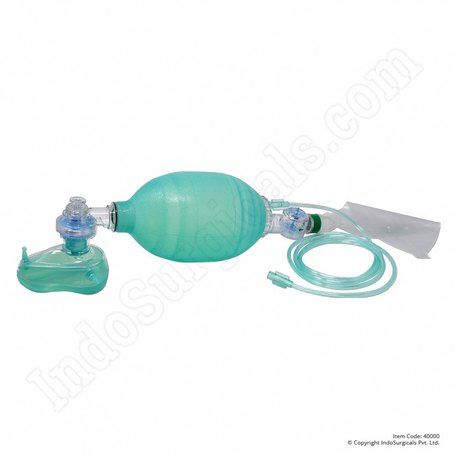 Green Silicone Resuscitator (Adult) Autoclavable Supplier