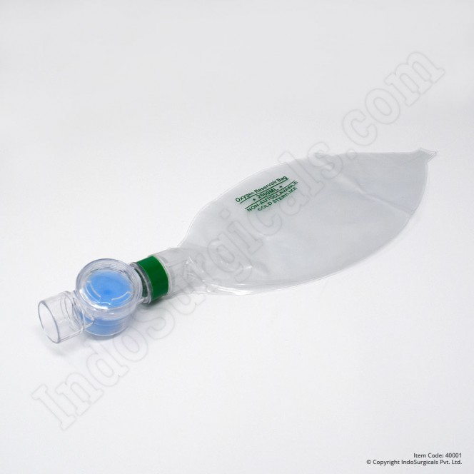 Green Silicone Resuscitator (Child) Autoclavable