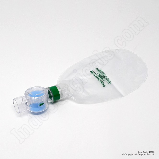 Green Silicone Resuscitator (Infant) Autoclavable