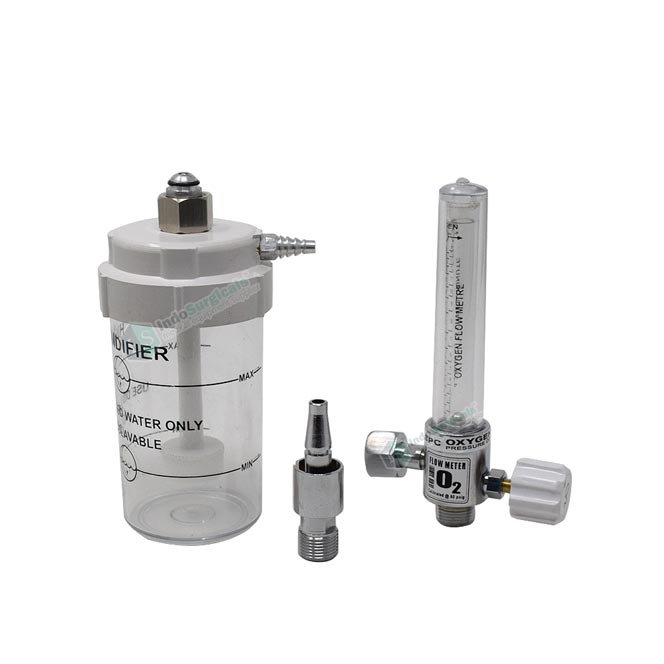 Flow Meter with Humidifier Bottle Manufacturer