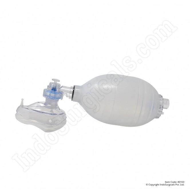 White Silicone Resuscitator (Adult) Autoclavable Manufacturer