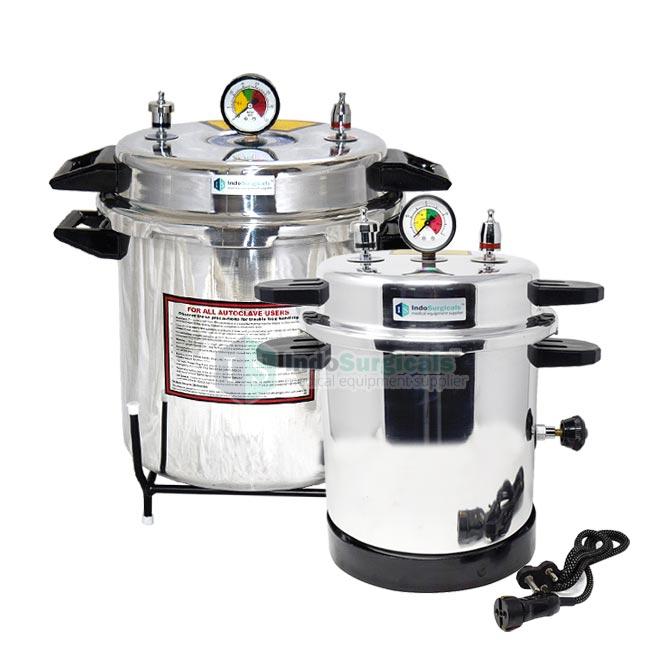 Electric Autoclave Pressure Cooker Type (Mirror Finish) Aluminum Body Supplier