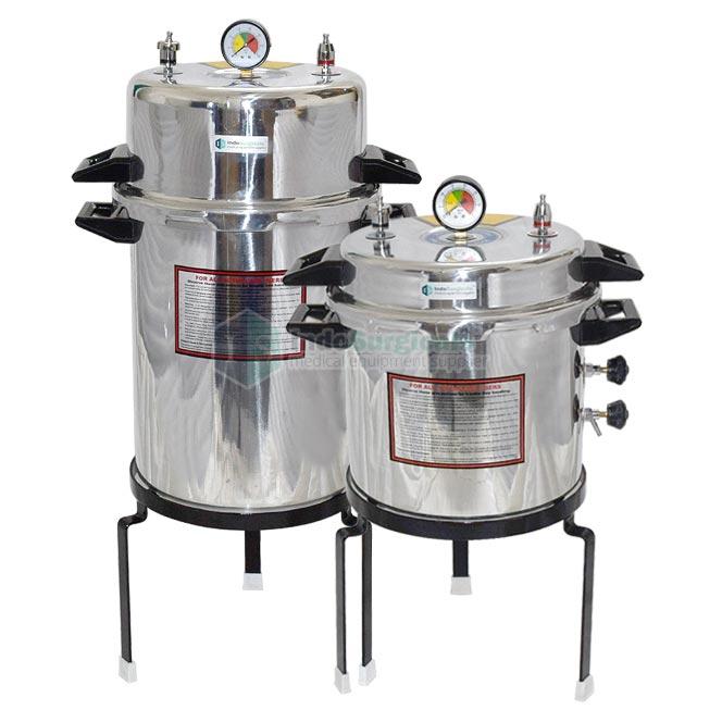 Non-Electric Autoclave Pressure Cooker Type (Mirror Finish) Aluminum Body Supplier