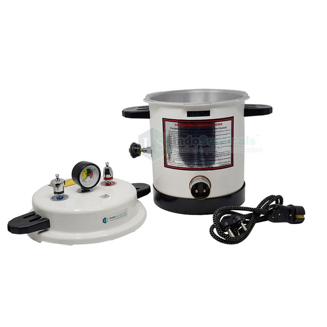 Electric Autoclave Pressure Cooker Type (Epoxy Finish) Aluminum Body