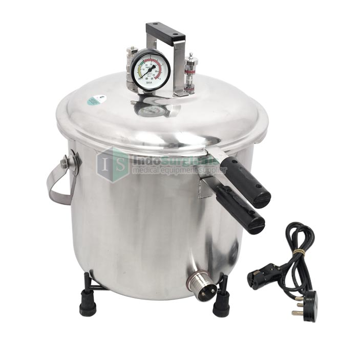Autoclave 30 Litre (Mirror Finish) Stainless Steel Body