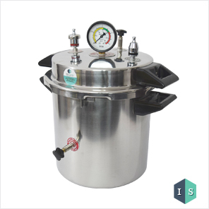 Autoclave Stainless Steel, 10 Litre, Non-Electric