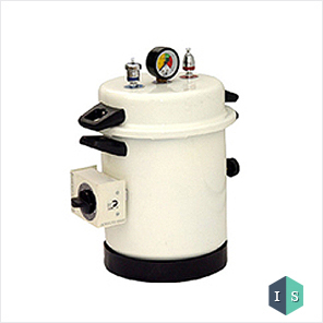 Dental Autoclave, Epoxy Finish, Pressure cooker type, Electric, 10 Liters