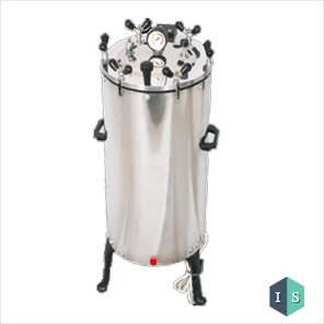 Autoclave Vertical Stainless Steel Nut Locking (Sterilizer Dressing Pressure Type), Electric