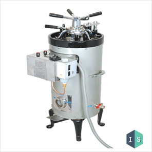 Vertical Autoclave (Triple Wall) Hi – Pressure Radial Locking, Electric