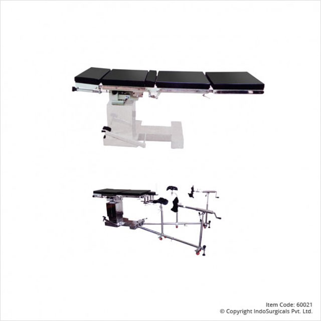OT Table Hydraulic C-Arm Compatible with Ortho Attachment