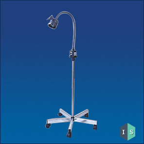 Halogen Examination Light (Chrome Plated Base)