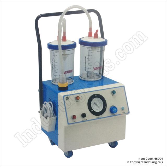 Suction Unit - MS (35 Ltrs./Min) Manufacturer, Supplier & Exporter