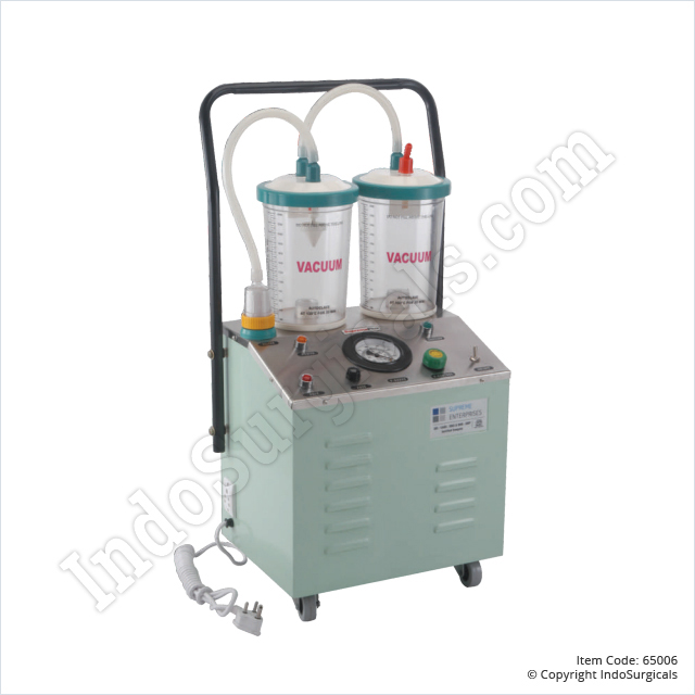Suction Unit - SS TOP (35 Ltrs./Min)