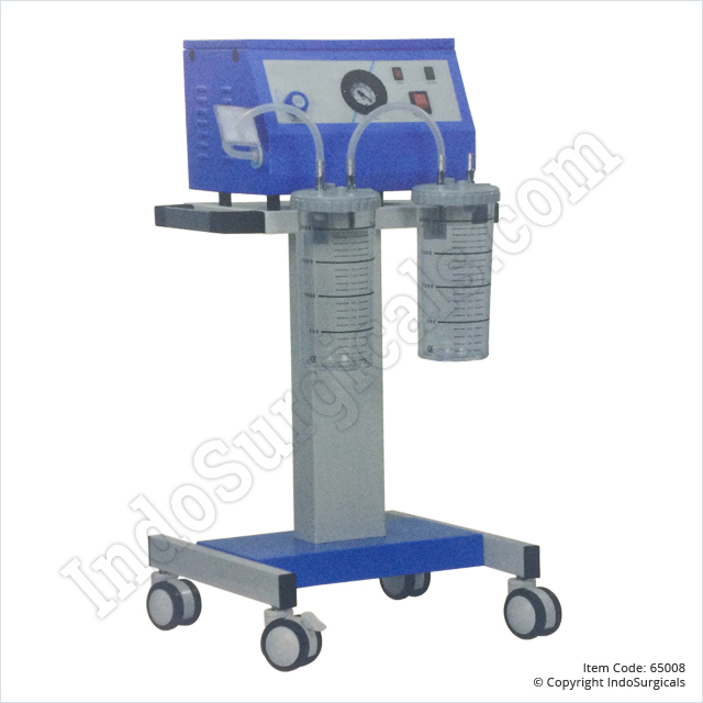Suction Unit - Trolley Model (35 Ltrs./Min) Manufacturer, Supplier & Exporter