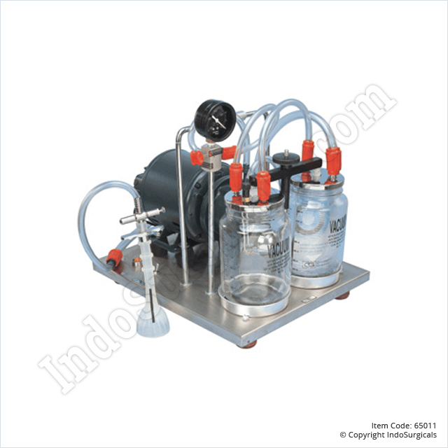 Bedside Suction Unit - SS Base (30 Ltrs./Min)